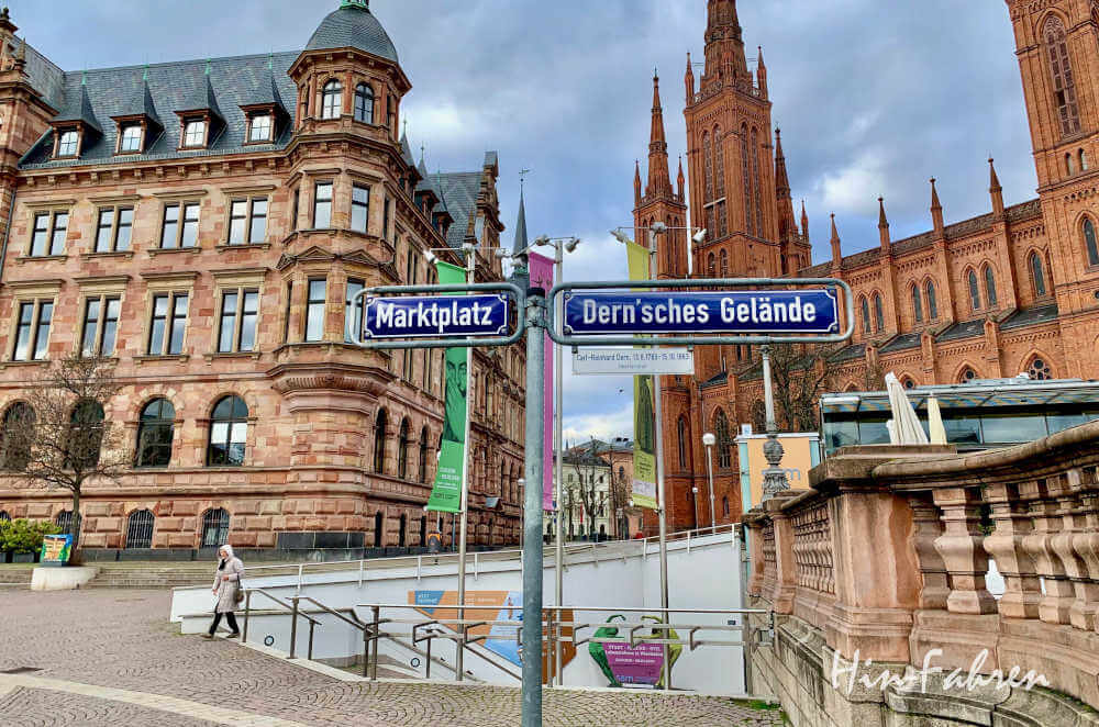 Wohnmobil-Kurztrip Deutschland: Stadtbesuch in Wiesbaden