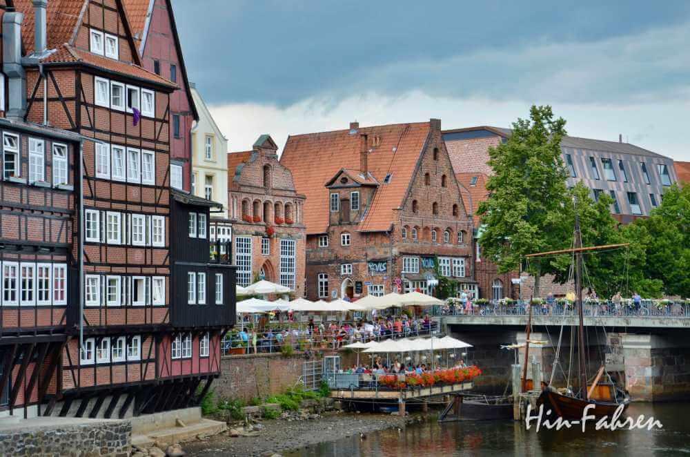 Wohnmobil-Kurztrip in Deutschland: Stadtbesuch in Lüneburg