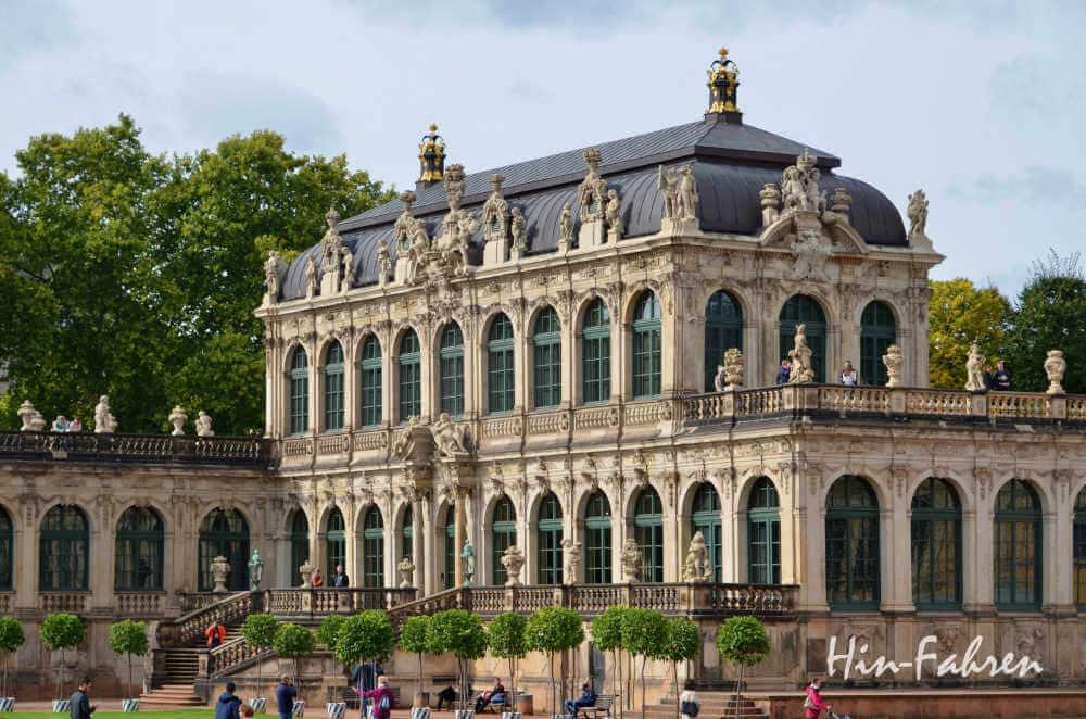Wohnmobil-Kurztrip Deutschland: Dresden Besuch im Zwinger