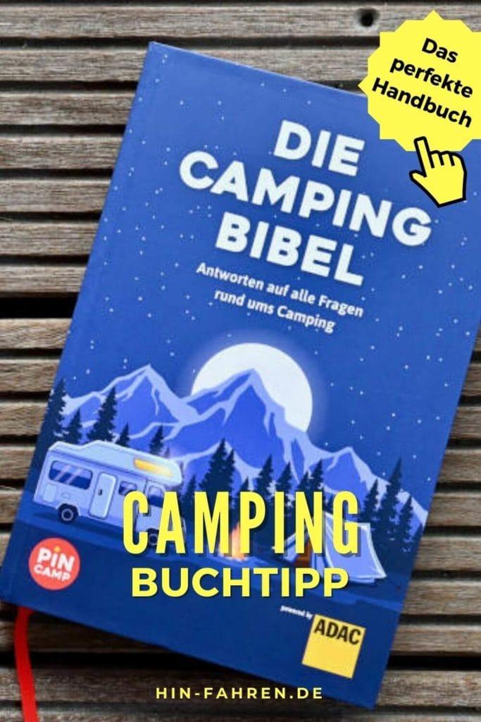 Camping-Buchtipp: Nachschlagewerk für Anfänger und Fortgeschrittene