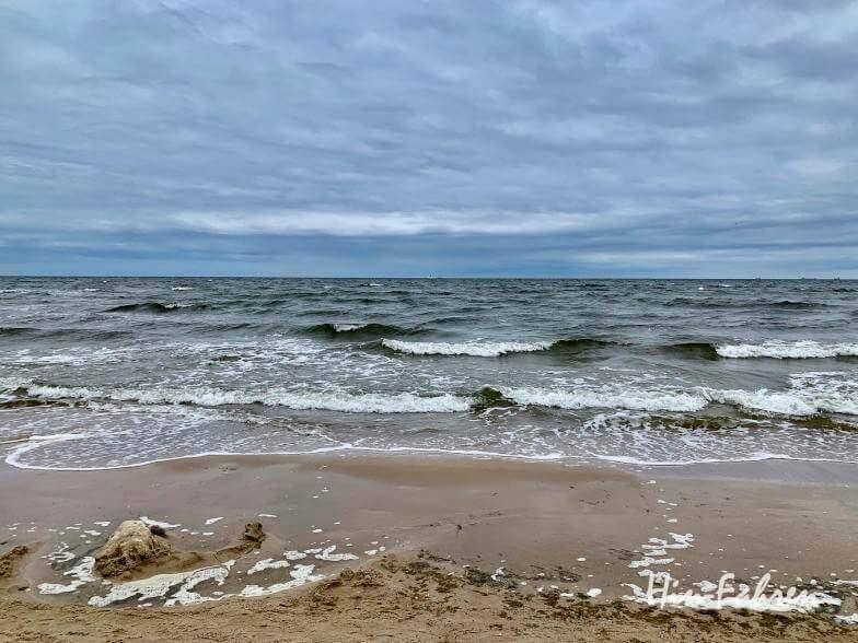 Blick auf die Ostsee auf Usedom