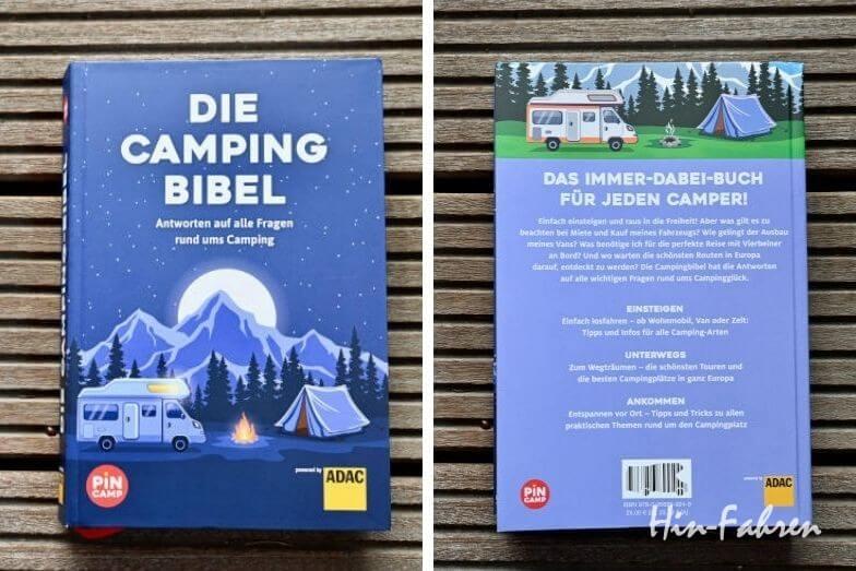 Ausführliches Nachschlagewerk rund um Camping und Wohnmobil: Die Campingbibel