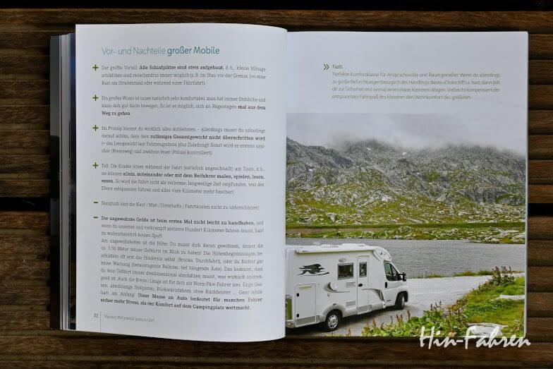 Camping- und Wohnmobiltypen und Ausstattung sind ebenfalls Inhalt des neuen Camping-Ratgebers