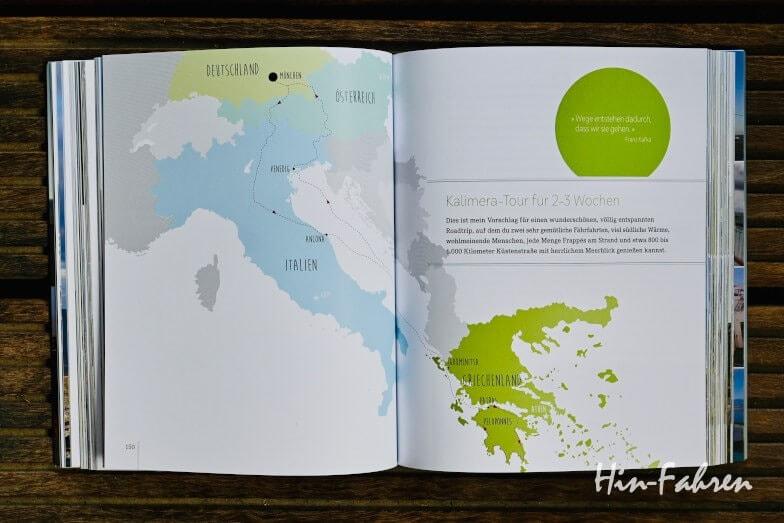 Reiseroute Griechenland im Wohnmobil-Ratgeber Cool Camping Wohnmobil