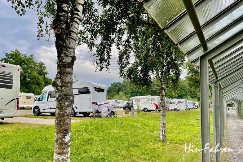 Bayern: Wohnmobilstellplatz an der Limes-Therme