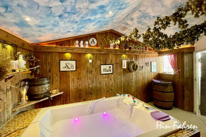 Wohnmobil-Tour Bayern: Wellness in der Limes-Therme