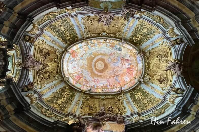 Wohnmobil-Tour Bayern: Klosterkirche Weltenburg