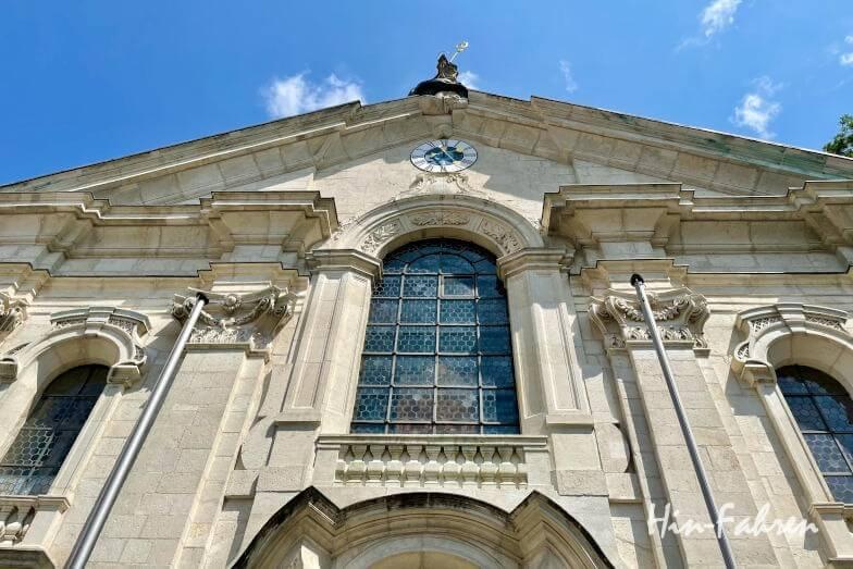 Wohnmobil-Tour Bayern: Kirche im Kloster Weltenburg