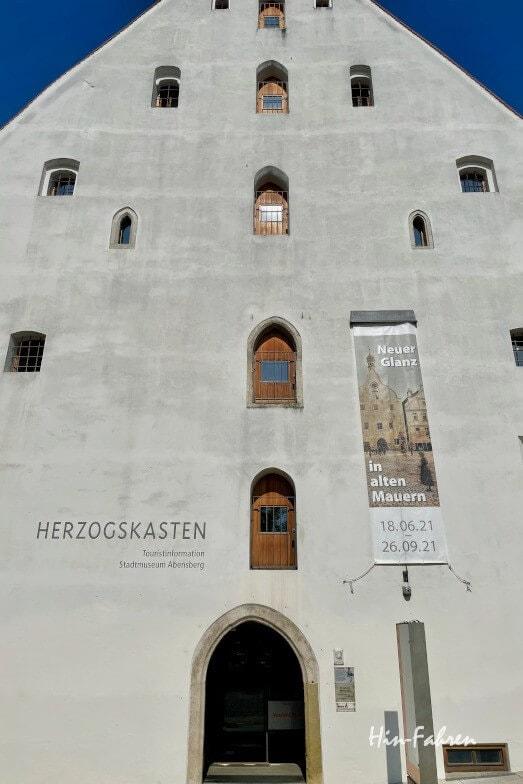 Wohnmobil-Tour Bayern: Museum Abensberg