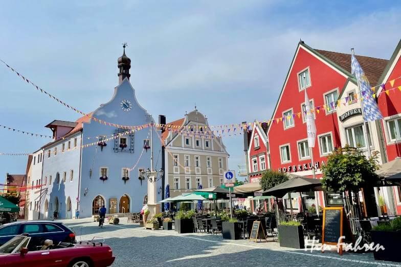 Wohnmobiltour Bayern: Besuch in Abensberg