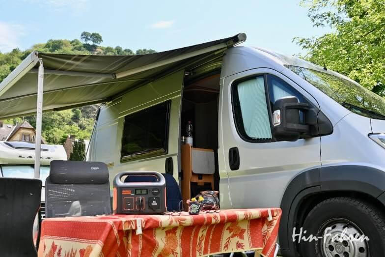 Solargenerator und Wohnmobil Powerstation: Einsatz auf dem Campingplatz