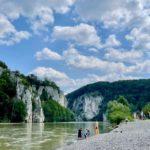 Wohnmobiltour Bayern an Donau und durchs Altmühltal: Weltenburger Enge am Kloster Weltenburg